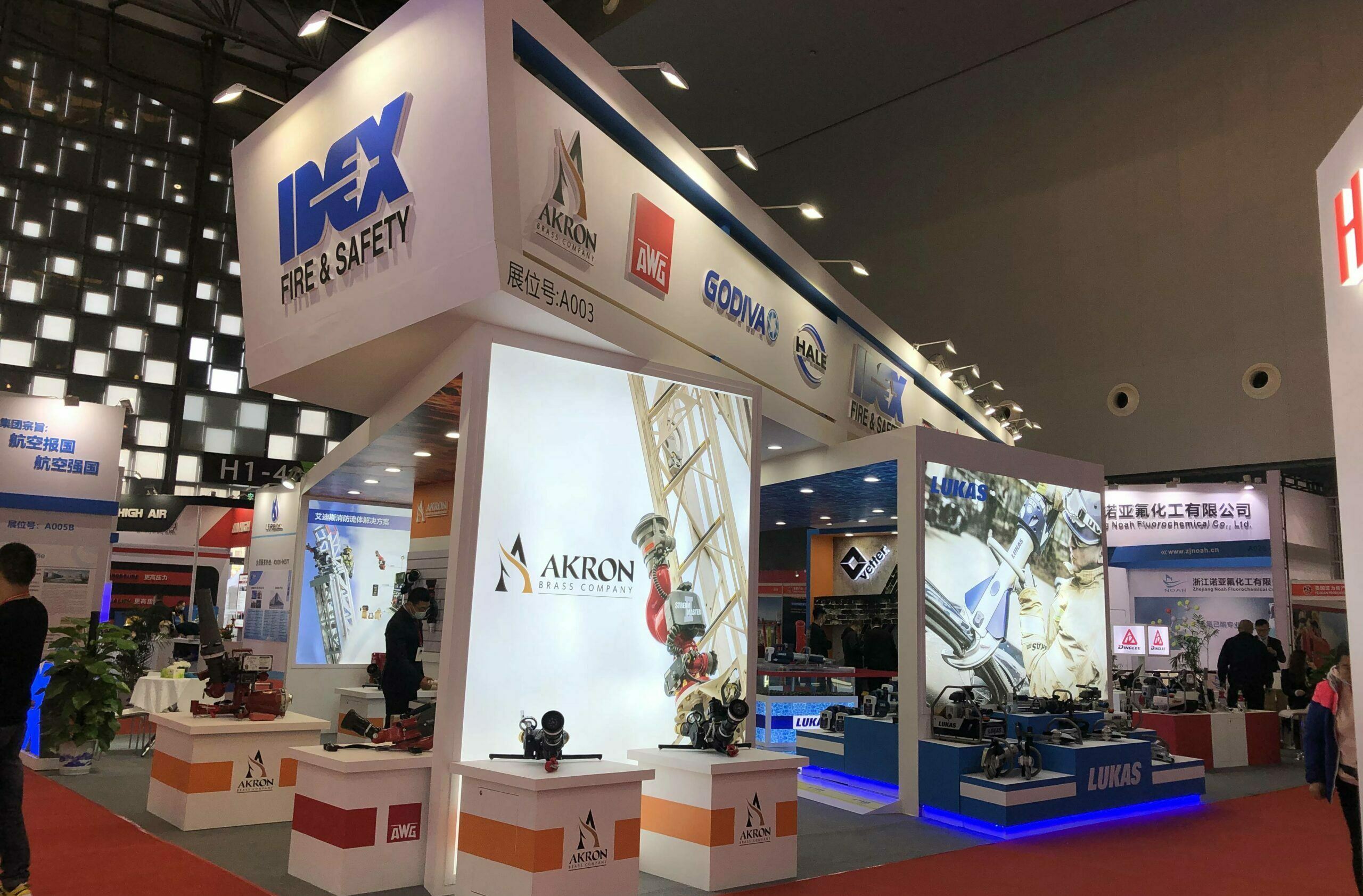 LUKAS eWXTs at the SHANGHAI FIRE SHOW